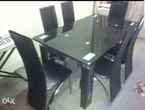 Dining table 6setter black Alagbado - image 1