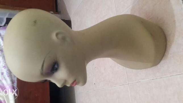 Dummy for wigs, necklace, chokers and make up accessories. Zimmerman - image 1