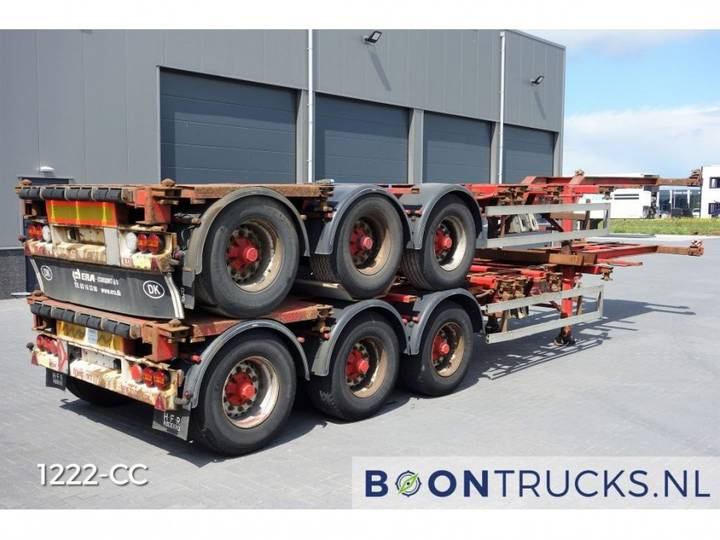 HFR *STACK OF 2* 20-30-40-45ft HC *DICS BRAKES* - 2005