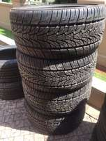 Various Tyres (New and Used)