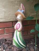 Bunny Garden Ornament
