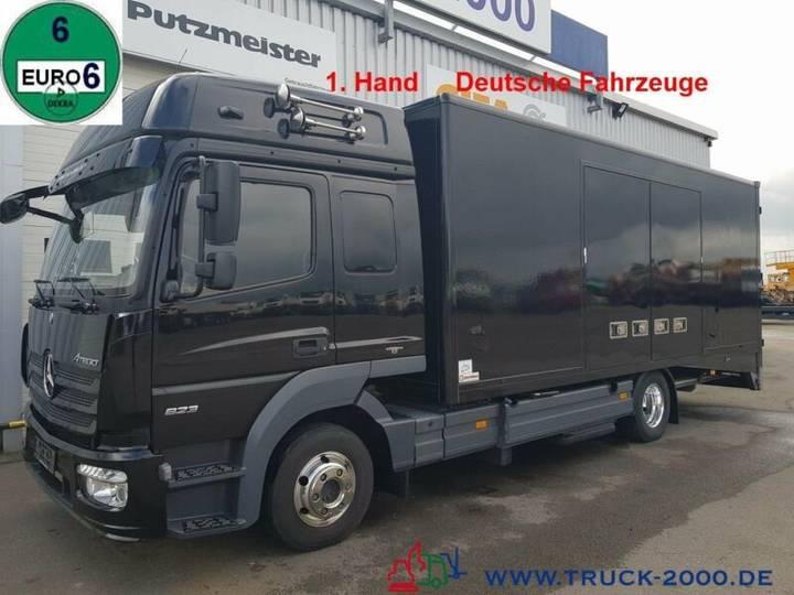 Mercedes-Benz 823 Mersch Geschlossener Autotransporter Euro 6 - 2013