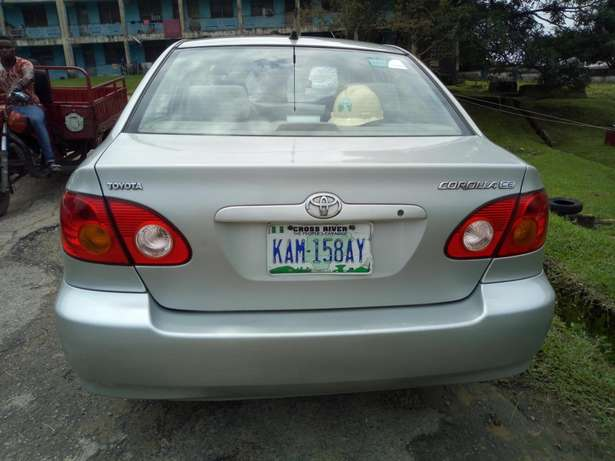 (Olx black Friday) Clean toyota corolla Calabar - image 1