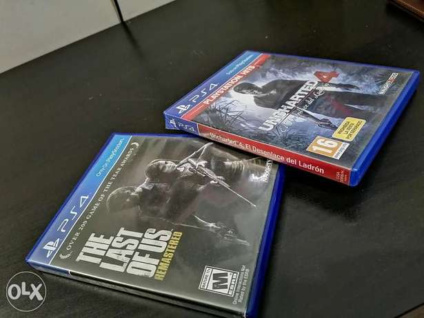 Last of us & uncharted 4