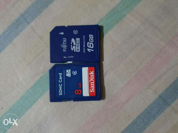 Memory cards 16-8