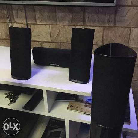Harman/Kardon HKTS 11B 5-Piece Satellite Speakers With Stands Nairobi CBD - image 4