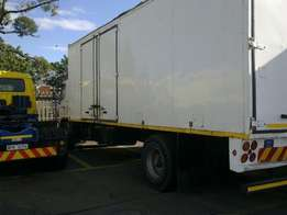 cheap shared loads to gauteng on the 22nd/ 23rd July - 8 ton covered t