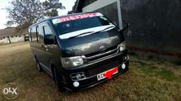 Hiace 2009 model kck auto diesel at 1.95m