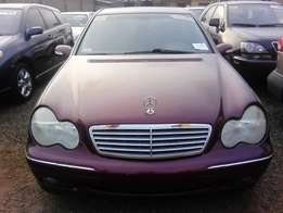 Mercedes-Benz,C240,Wine Colour(Tokunbo)