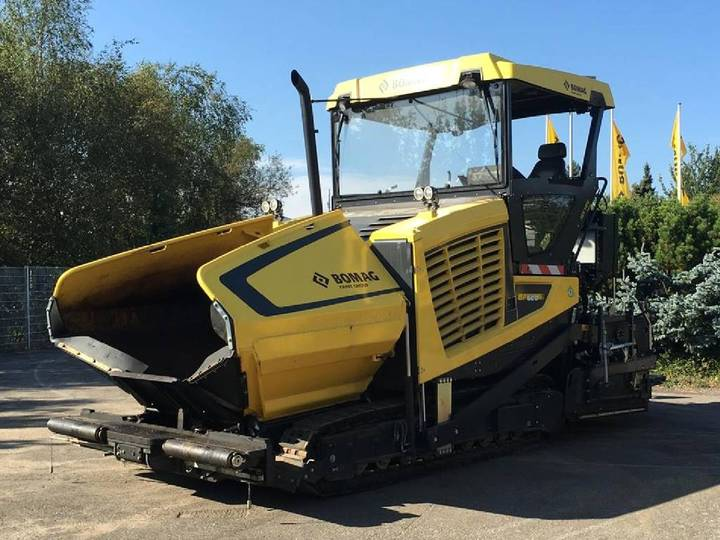 BOMAG Bf 600 C-2 S500 - 2014