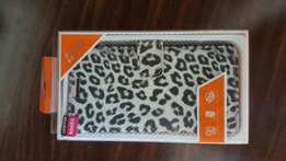 Samsung note 4 leopard print cover new condition