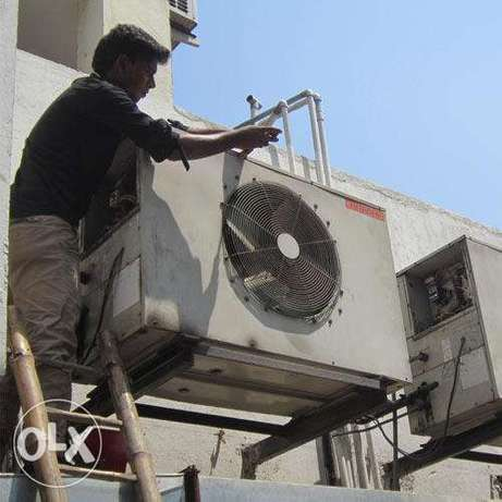 Split AC window AC repair and install with good price offer