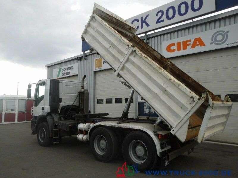 Iveco AD260 6x4 Meiller DeutscherLKW 1.Hd Klima 110TKM - 2009 - image 16