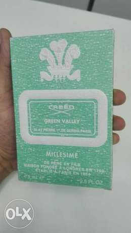 Creed green valley perfume