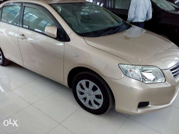 Toyota axio gold color new plate number fresh import Mombasa Island - image 1