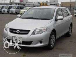 Toyota corolla fielder 2010 fully loaded, finance terms accepted