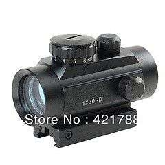 Tactical 1x40 Red Green Dot Sight Scope w/10mm - 20mm Weaver Mounts Sunridge Park - image 1