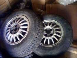 2x Vw mags with 14` tyres