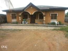 4Bedroom Bungalow At Alagbole, Akute Road. All Rooms Ensuite