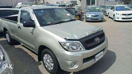 Freshly imported Hilux Single cab 2010 model. KCP