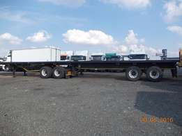 just arrived flat deck trailer up in the market for sale