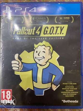 Fallout 4 G.O.T.Y Edition PS4