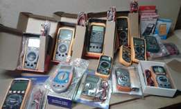 Multimeters and testers galore All types