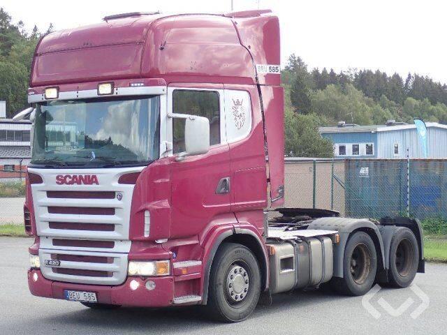Scania R420LA MNA 6x2 Tractor - 08 - 2008
