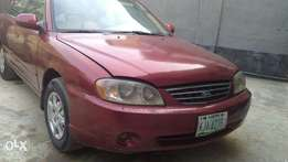 2003 Clean Kia Spectra (Wine Colour)