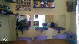 Cute salon and cosmetic for sale