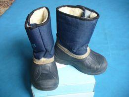 Детские зимние сапоги дутики с меховой подкладкой Vitaliya 898e1a7714fc9