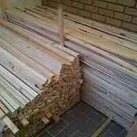 Wooden pine planks untreated 1500mm long x 40mm wide x 22mm thick