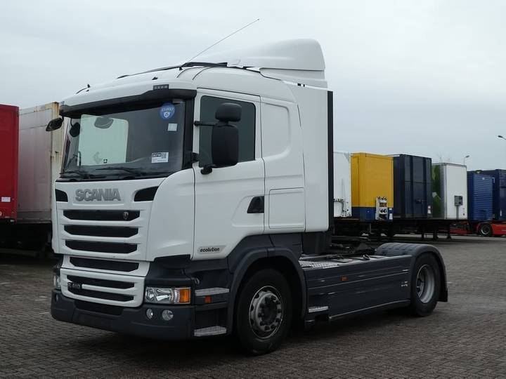 Scania R410 cr19 ret. no egr - 2015