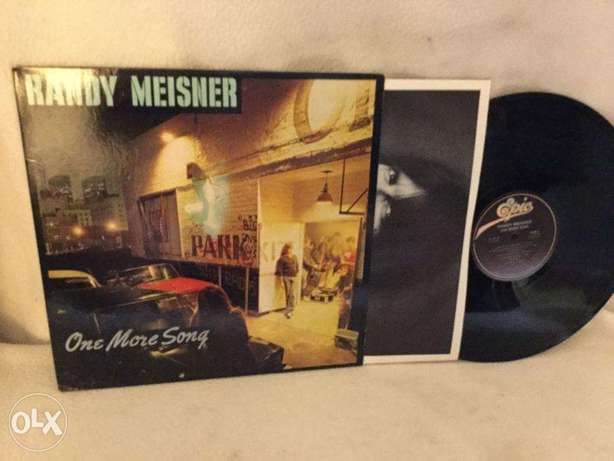 Randy Meisner : One More Song\hearts on fire Vinyl lp