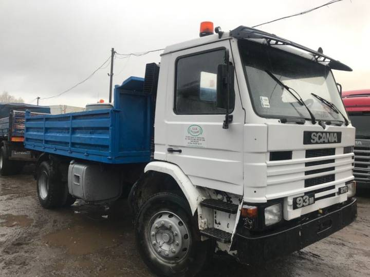 Scania 93M 210.Meiller 3 Sides.manual.Not 113 - 1990
