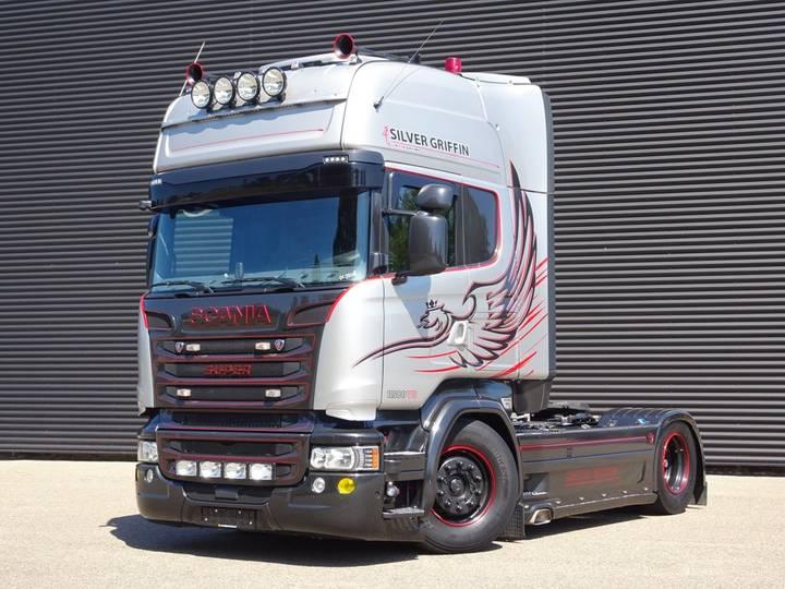 Scania R580 V8 SILVER GRIFFIN / RETARDER / FULL AIR / 420 DKM - 2015