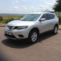 2017 Silver Nissan X-Trail 2.0 XE Excellent Condition