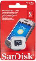 Original SanDisk Micro SD Card 8GB, Expand your phone storage options