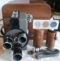 Experience the Cinekon Video Camera used by ur grandfathers way back.