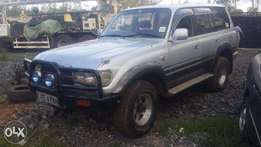 Toyota Land cruiser VX 80 series 4.2 turbo diesel automatic