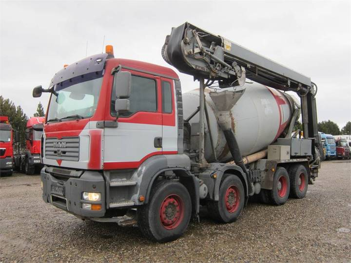 MAN Tga 35.400 8x4 Stetter 9m3 + Theam 14m+4m - 2007