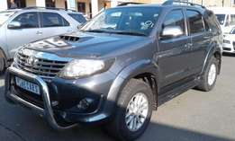 2013 Toyota Fortuner 3.0 D-4D Raised Body AT