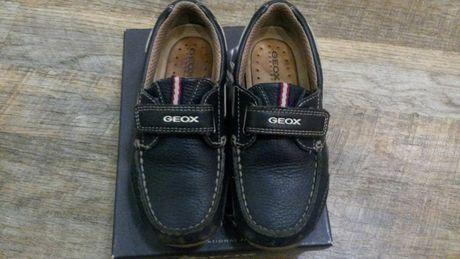 4e1365178 Продам детские кожаные туфли на мальчика GEOX 29 размер Киев - изображение 1