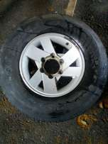 Colt bakkie mags and tyres two only 15 inch