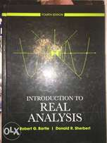 Real Analysis textbook