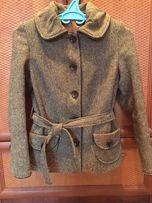 Теплий шерстяний костюм куртка кардиган спідниця - олівець e96af942beb16