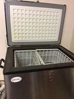 Camping Fridge Freezer Cellarman Stainles steel