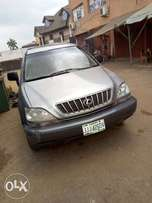A clean registered toyota rx300 for sale, 2002 model.
