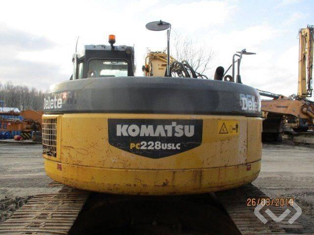 Komatsu PC228 USLC Crawler Excavator - 08 - 2008 - image 19
