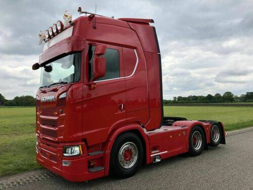 Scania S580 Globe XL Hydro 6x2 / Leasing - 2017